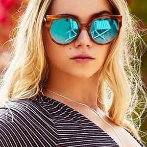 DIFF penny sunglasses, 55mm, Tortise